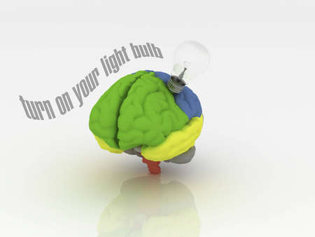 Turn on your light bulb