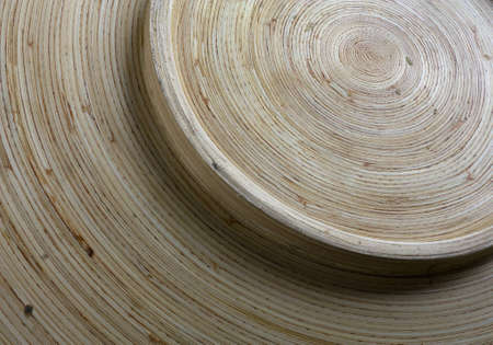wood bowl  Stock Photo