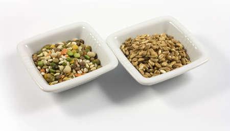 barley and legumes