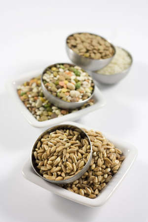 pearl barley: barley and legumes