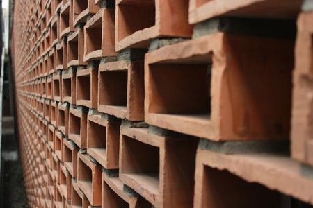 bricklaying: Building and bricklaying Stock Photo