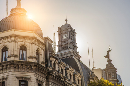 Clock Tower, Buenos Aires, Argentina.