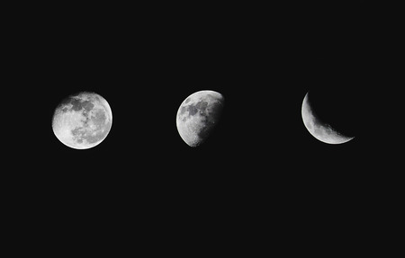Phases of the Moon from young
