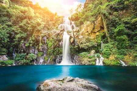 exposicion: Incre�ble cascada de la exposici�n a largo