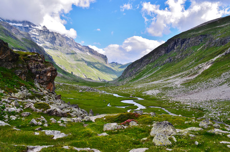 vacance: The Ponturin. National park Vanoise