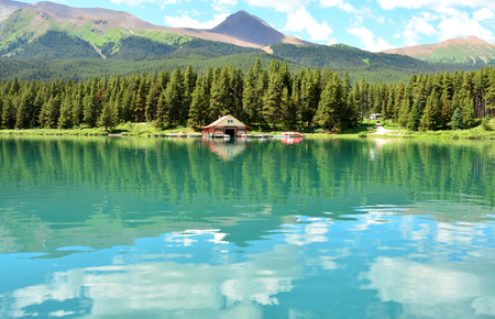 jasper: Maligne Lake, National Park Jasper, Canada