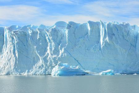 glaciares: Perito Moreno Glacier in Argentina Stock Photo