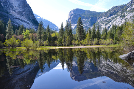 lafayette: Yosemite Reflection. Nevada, United States