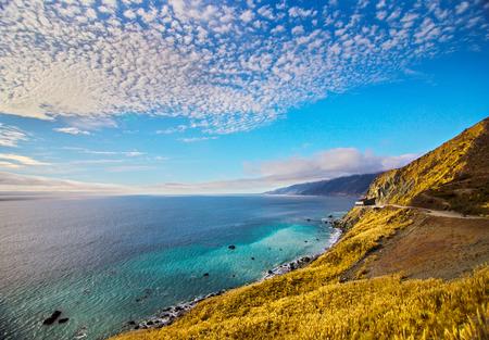 California Pacific Coast Highway Фото со стока