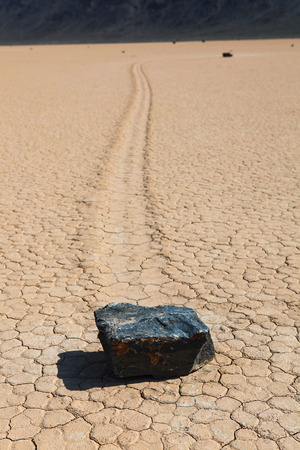 racetrack: Racetrack Playa in Death Valley National Park. USA.