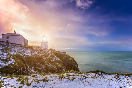 blackhead: Blackhead Lighthouse in the Burren