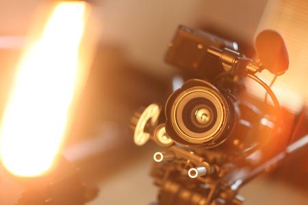 Kamera z różnymi urządzeniami Zdjęcie Seryjne