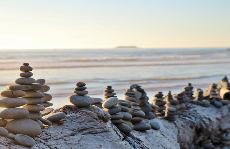 multiple: Multiple small cairns