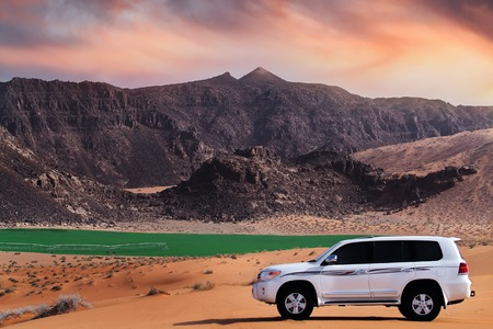 DUBAI, UAE - JUNE 22, 2016: Toyota Land Cruiser Editorial
