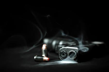 Prueba clara y balas