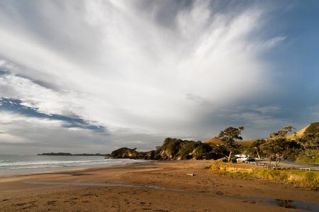 New Zealand Beach Stock Photo