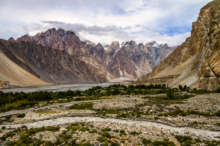 Passu is a small village on the Karakoram Highway, beside the Hunza River, some 15 kilometers from Gulmit, the Tehsil headquarters of Gojal in the Gilgit-Baltistan region of Pakistan.