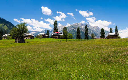 View Azad Kashmir, Pakistan Stock Photo