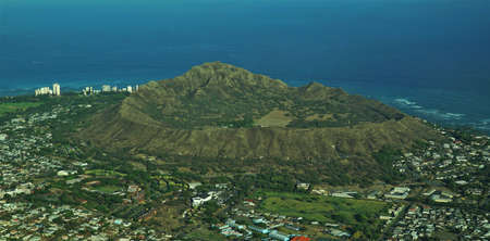 Diamond Head North View Stock fotó