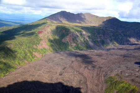 Kamchatka, Karymsky Volcano old caldera
