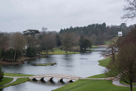 Painshill in the rain