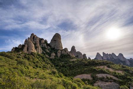 Montserrat Sanctuary, Catalonia, Spain
