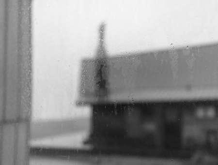 A rainy day at the coast Reklamní fotografie