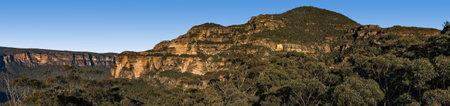 Mt Banks panorama Фото со стока