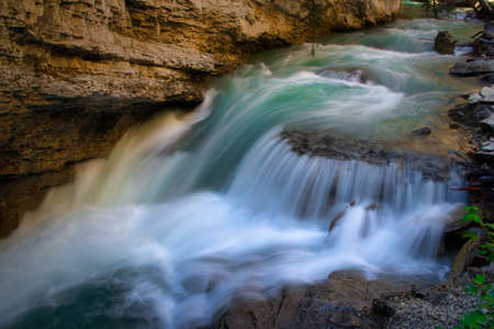 Stream in Johnston Canyon