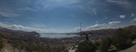 Kuntur Wasi Viewpoint. Puno, Peru. Фото со стока