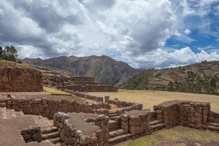 Chinchero Archaeological Complex. Фото со стока