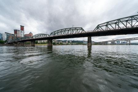 The Hawthorn Bridge. Portland, Oregon.