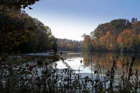 Sharon Woods Lake Stock Photo