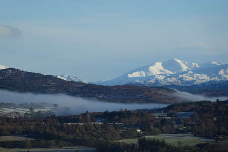 View towards Glen Strathfarrer and Sgurr na Lapaich