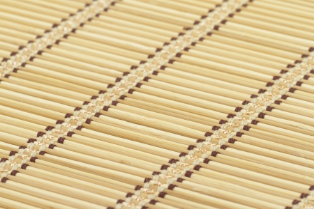 Bamboo mat as background photo