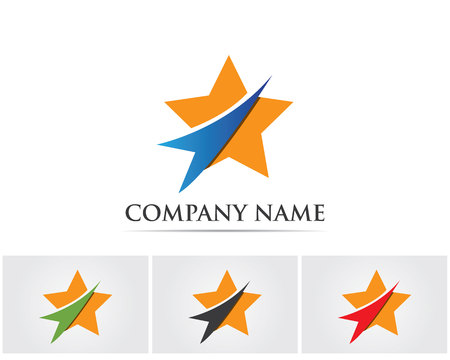 Star logo success business