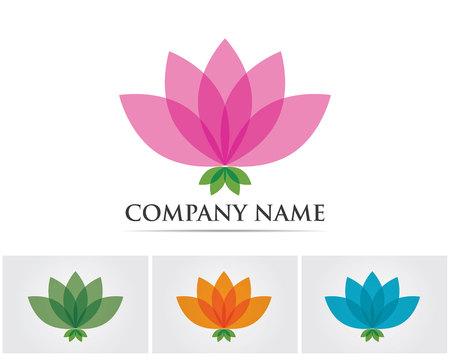 masajes relajacion: Vector - flor de loto sesión para Wellness, Spa y Yoga. Ilustración del vector Vectores