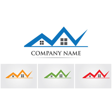 stovepipe: Home and building logo Illustration