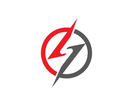 S flash logo Illustration