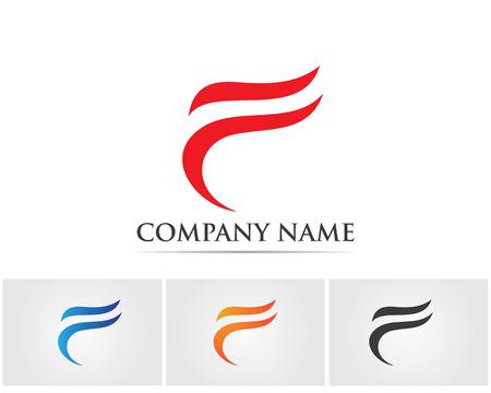 F letter logo Vettoriali