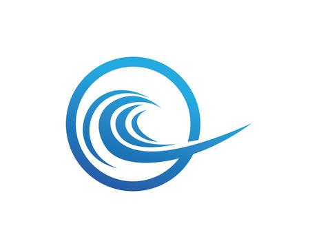 waterdrops: Waves waters sea logo