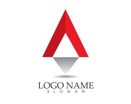 편지 A 로고