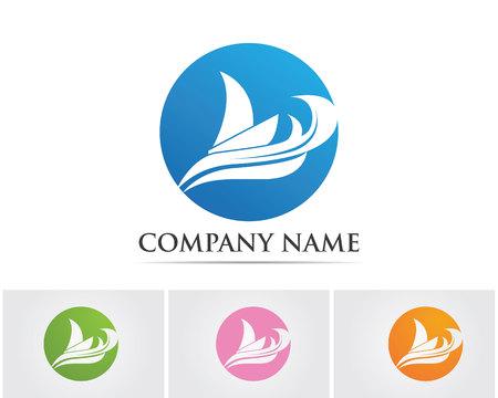 Logotipo de las olas
