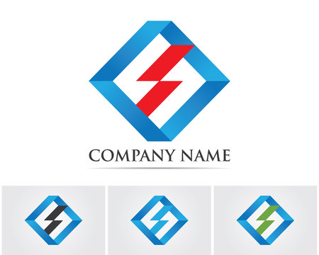 thunderbolt: Flash thunderbolt logo