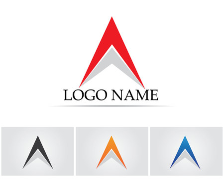 A Letter Business Template icon