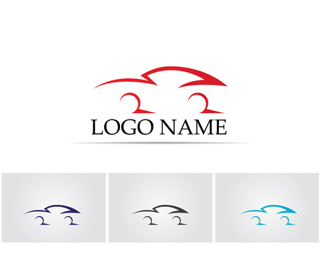 Car silhouette logo Illustration