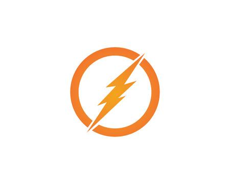 lightning icon logo and symbols