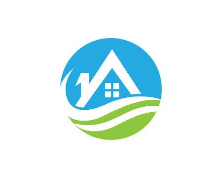 Home symbols and logo
