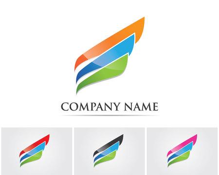 corporation: Business finance logo