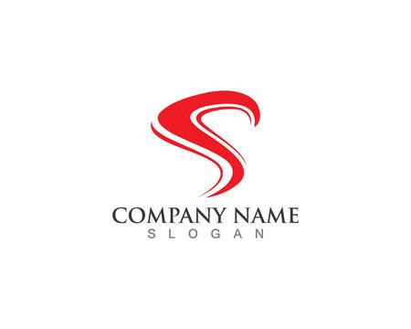 Business corporate letter S logo ontwerp vector